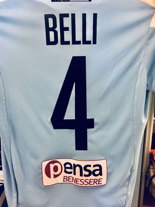 Maglia originale n° 4 di Francesco Belli | Virtus Entella | Triboom